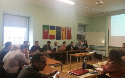 First Transnational partner meeting of the LivingRiver project happened in Coimbra, Portugal