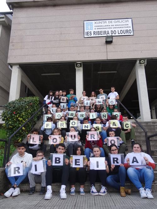 """Gymkhana on IES Ribeira do Louro"""
